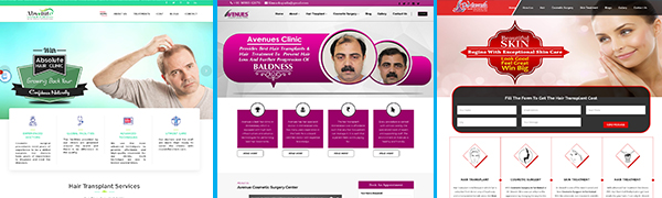 Wordpress cosmetic clinic designs