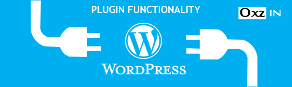 Wordpress plugin functionality