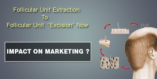 "Is Follicular Unit Extraction CALLED Follicular Unit ""Excision"" Now?"