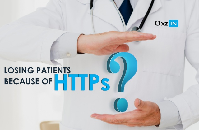 Are Doctors Losing Some Online Patients Because of HTTPs ?